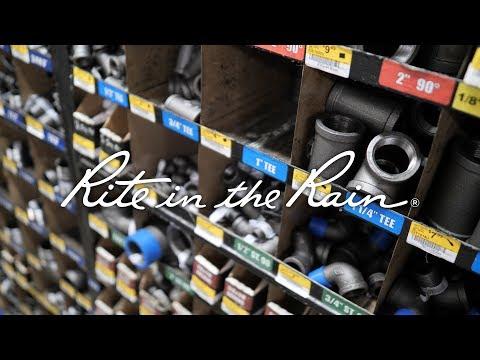 85,000 SKUs in ONE hardware store - Rite in the Rain dealer Hardware Sales in Bellingham, WA.