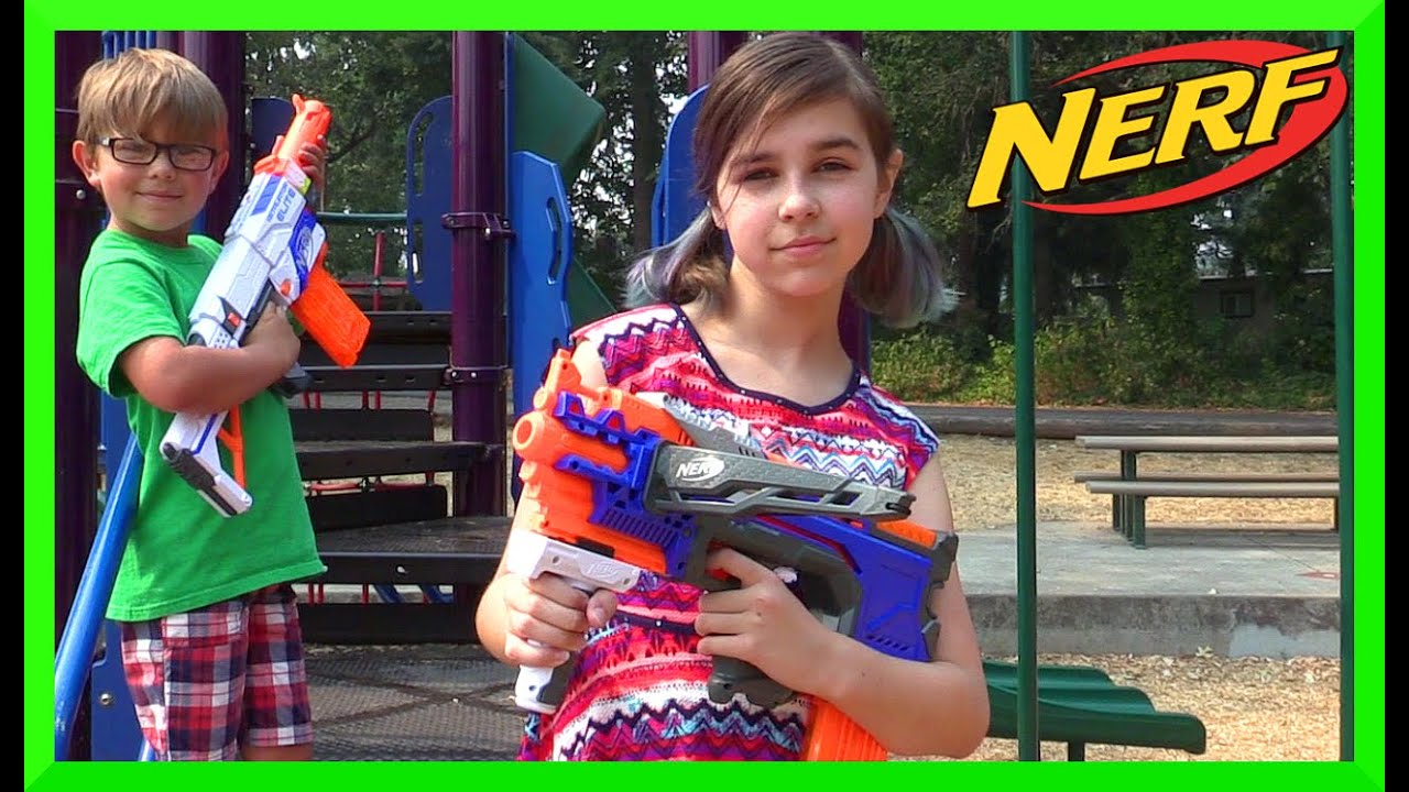 Top 10 nerf guns toy reviews for kids and parents - Nerf Crossbolt Toy Gun Review And Mini Kid Play Nerf War With Radiojh Auto
