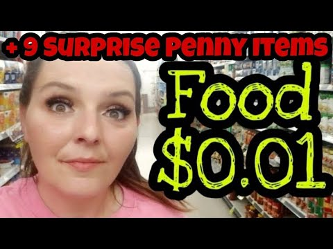10 Surprise Penny Items For Dollar General  FOOD