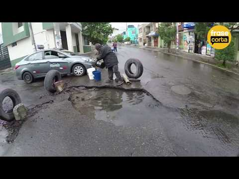 Lluvia causa los primeros estragos en Arequipa.