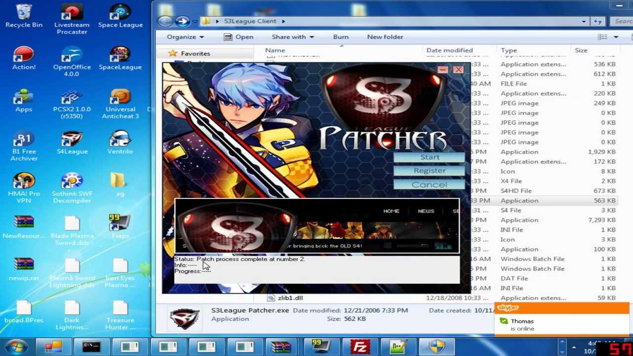 S4 League P Server