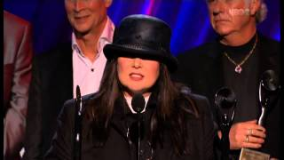 ROCK AND ROLL HALL OF FAME 2013 - HEART