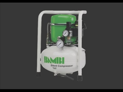 Bambi BB8 Lubricated Silent Air Compressor Review
