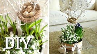 Osterdeko basteln: DIY - Hübsche Blumendeko für Ostern selber machen | Deko Kitchen