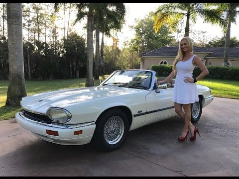 SOLD 1994 Jaguar XJS 4.0 Convertible For Sale By Autohaus Of Naples  239 263 8500
