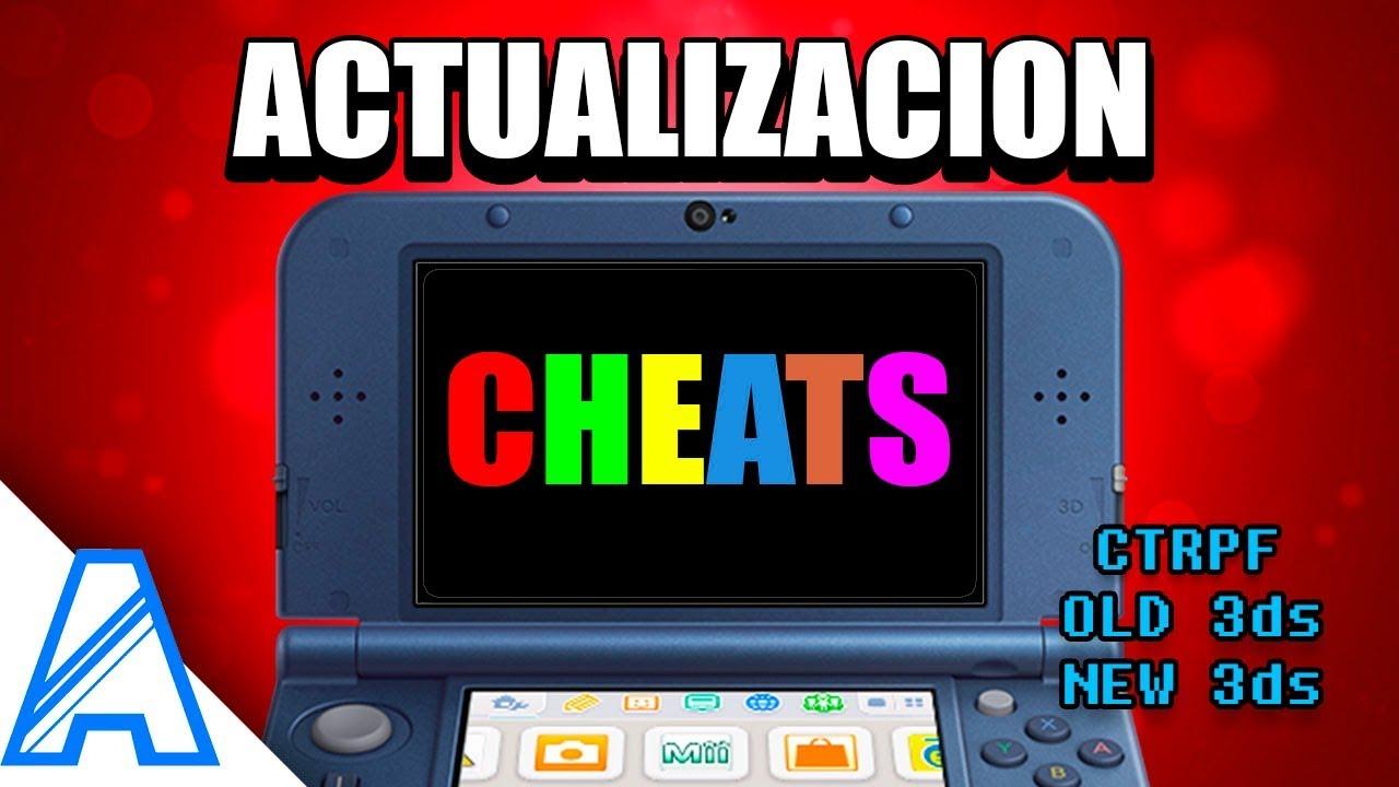 Actualizacion - Cheats para Nintendo 3ds (Metodo Rosalina en Luma v9 1)
