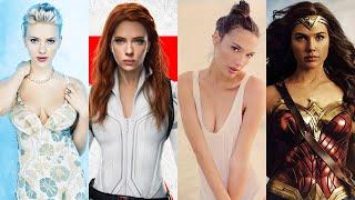 Scarlett Johansson VS Gal Gadot Transformation ★ 2021