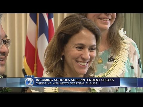 New superintendent focuses on smooth transition, implementing key goals