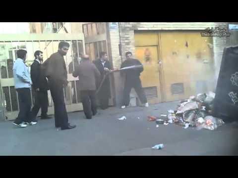 Iran tehran clashes 25bahman 14feb.