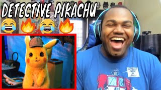 Pokémon Detective Pikachu Trailer (2019) Ryan Reynolds, Justice Smith, Ken Watanabe REACTION