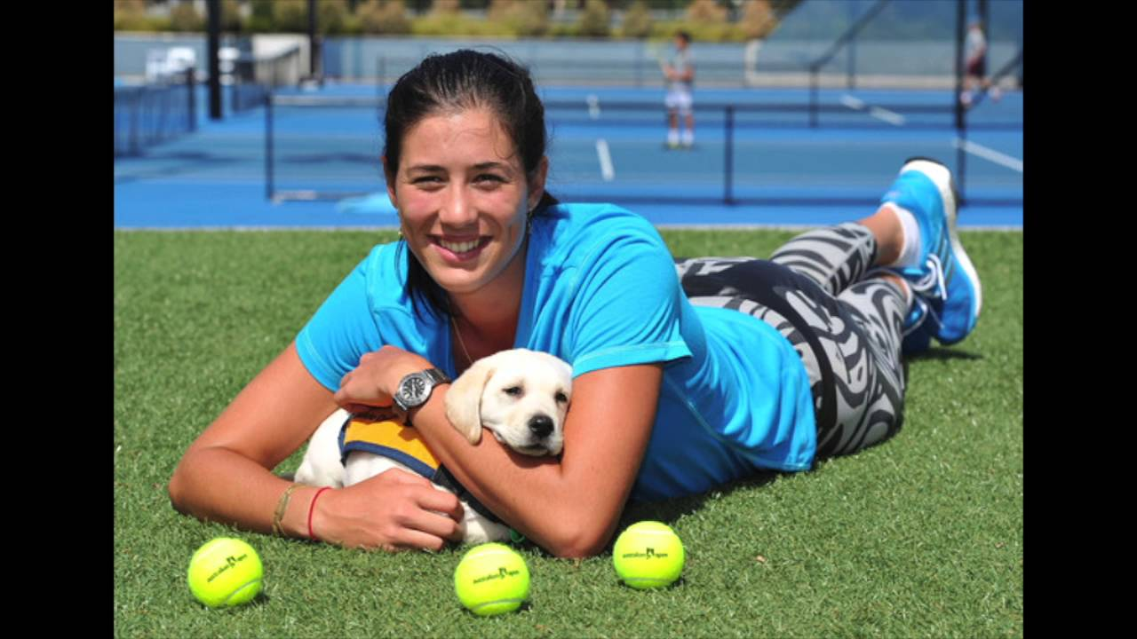 Young Garbine Muguruza nude photos 2019