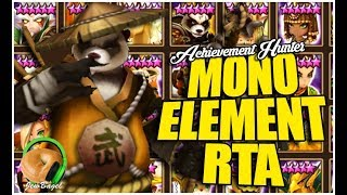 SUMMONERS WAR : Mono-Element RTA? (water/fire/wind) - Achievement Hunter