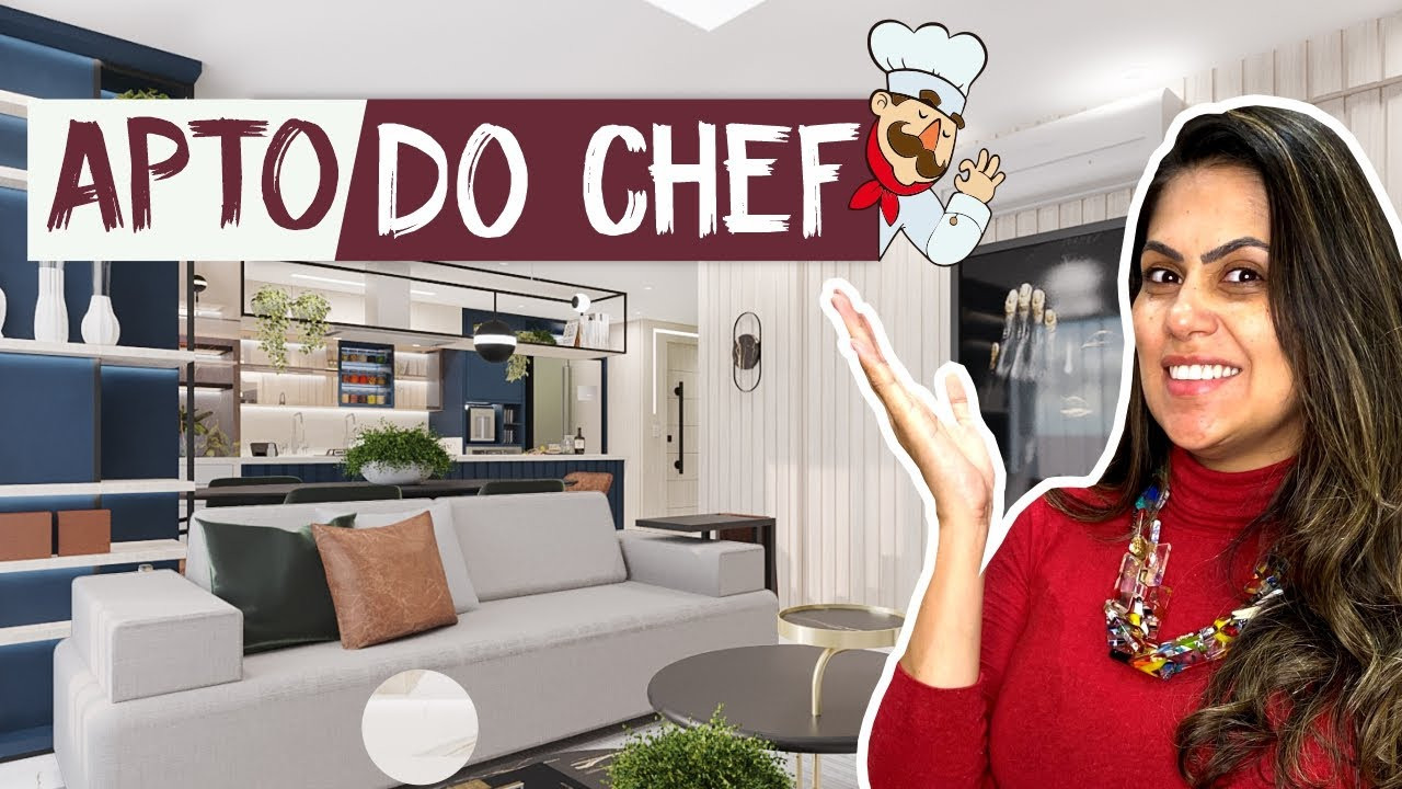 Apto Do Chef - Larissa Reis Arquitetura