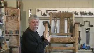 Restoring An Antique Rocking Chair - A Woodworkweb Woodwoking Video