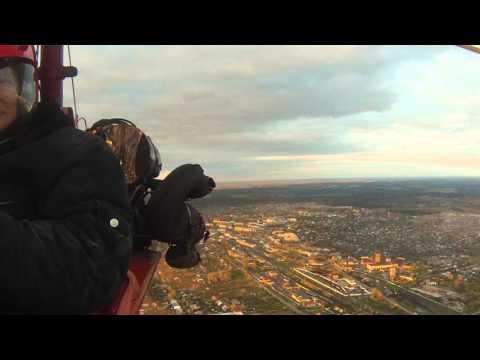 Полет на дельталете в Верещагино