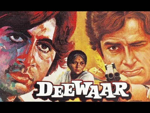 Deewaar l Amitabh Bachchan, Shashi, Nirupa Roy, Parveen l 1975 l Super Hit Hindi Action Full Movie