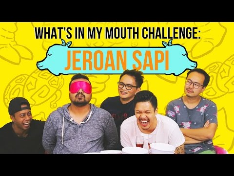 What's in My Mouth Challenge: Jeroan Sapi ft. Cameo Project