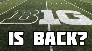 Big Ten is Back? | JaMarr Chase | Jamie Newman | College Football News |  Q&E Clips