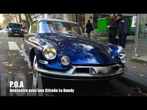 Mercedes 560 SL & Citroën coupé Le Dandy par Chapron