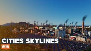 Cities Skylines | #05 | Black Lake | Nowa strefa przemysłowa