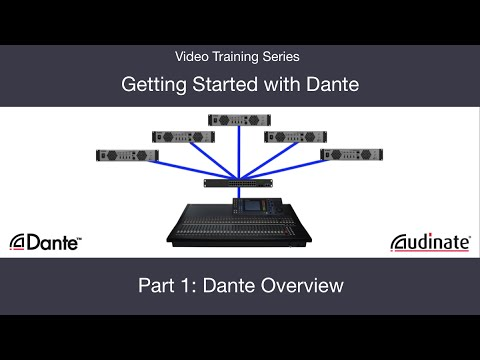 Getting Started with Dante: 1. Dante Overview
