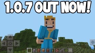 Minecraft Pocket Edition - 1.0.7 Update! - OUT NOW! (IOS/Android)