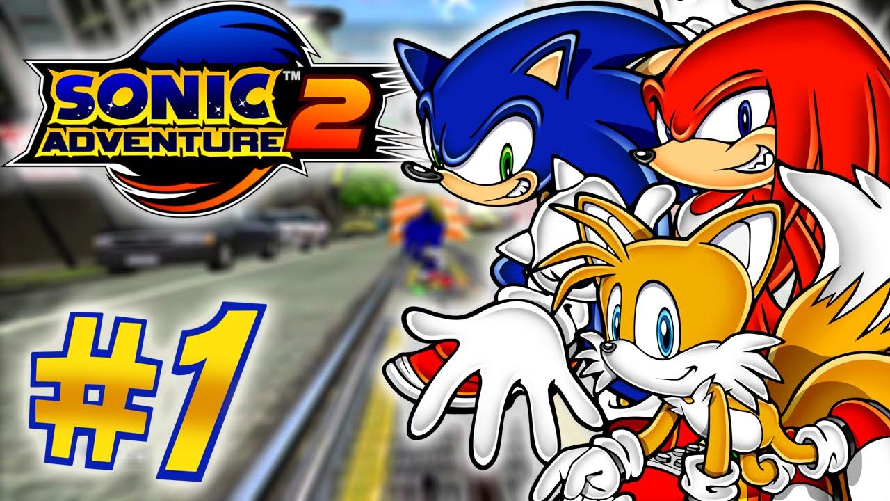 Sonic Adventure 2 HD 60FPS-(Dreamcast) Hero Story-Part 1