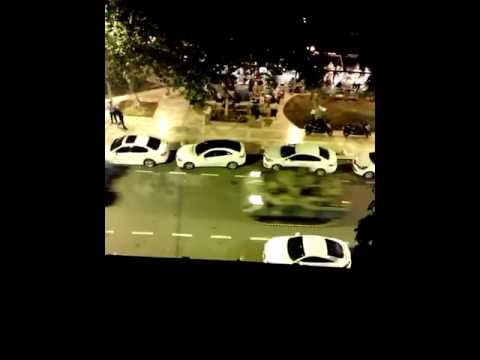 Military Tanks passing in Istanbul [Martial Law]
