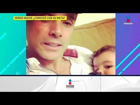 ¡Sergio Mayer e Issabela Camil de nuevo con su nieta Mila! | De Primera Mano