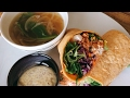 Low carb Burrito with Onion soup (Vegan)/糖質制限 ブリトーとオニオンスープ #8 …
