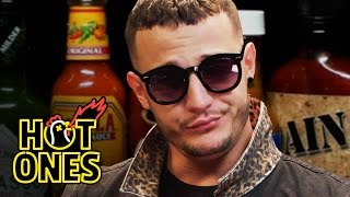 Video DJ Snake Reveals His Human Side While Eating Spicy Wings | Hot Ones download MP3, 3GP, MP4, WEBM, AVI, FLV Februari 2018
