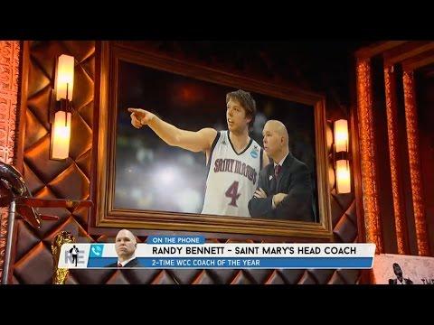 Saint Mary's Basketball Head Coach Randy Bennett on ...