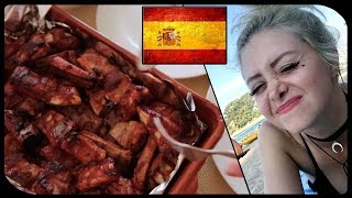 ✿ Готовлю рёбрышки барбекю для англичанки в Испанской глуши за 3 рубля порфавор ✿
