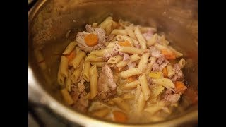 Lemon Chicken Penne with Carrots in the Instant Pot - The 360 Chef Recipe How-to (Ambisonic sound)