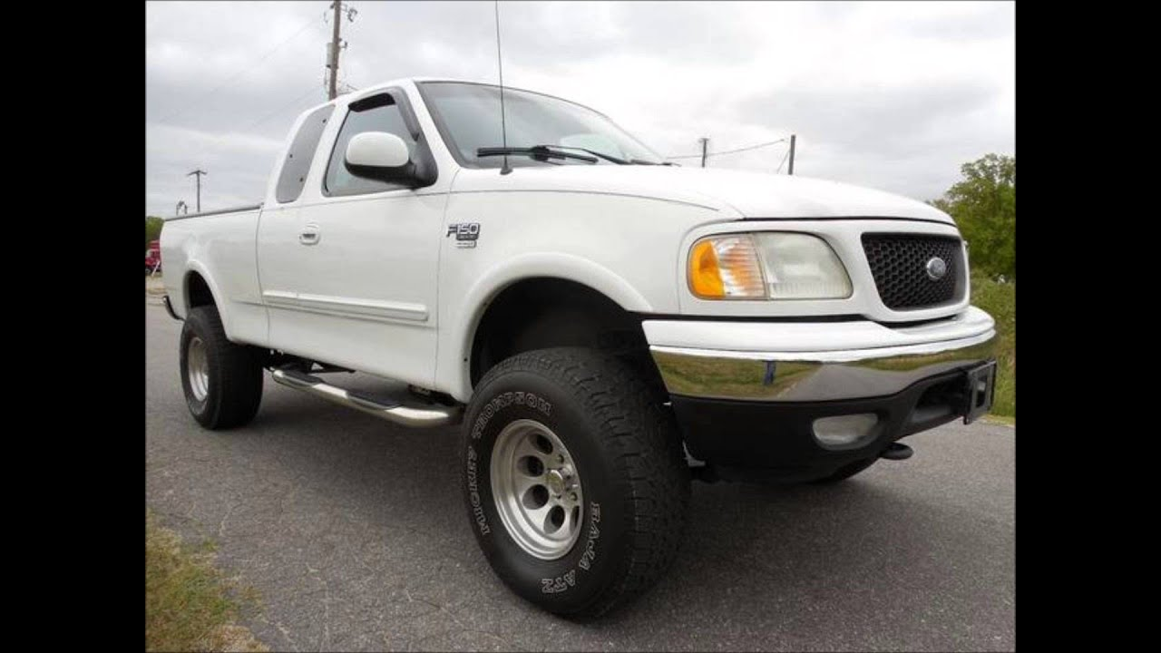 2002 ford f 150 xlt 4 door lifted truck for sale youtube. Black Bedroom Furniture Sets. Home Design Ideas