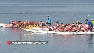 Во Владивостоке прошли любительские соревнования по гребле на лодках класса «дракон»