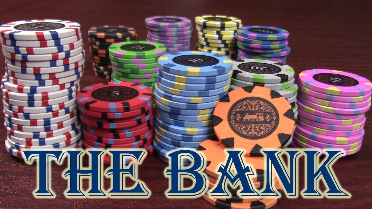 Origin of poker chips ahoy