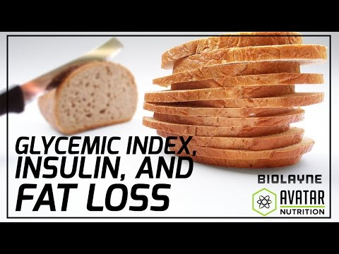 Glycemic Index, Insulin, and Fat Loss