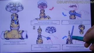винтовые вентиля: ремонт и замена