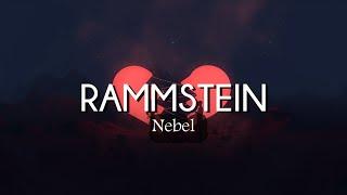 Rammstein - Nebel (Lyrics/Sub Español)