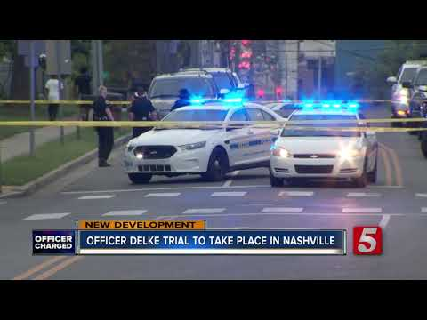 Trial Of Metro Police Officer Charged With Murder To Be Held In Nashville