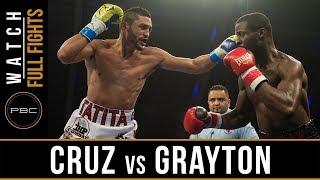 Cruz vs Grayton FULL FIGHT: November 21, 2017 - PBC on FS1