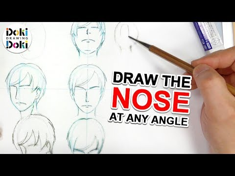 Draw the Nose at ANY Angle|Japanese Pro Anime Sessions