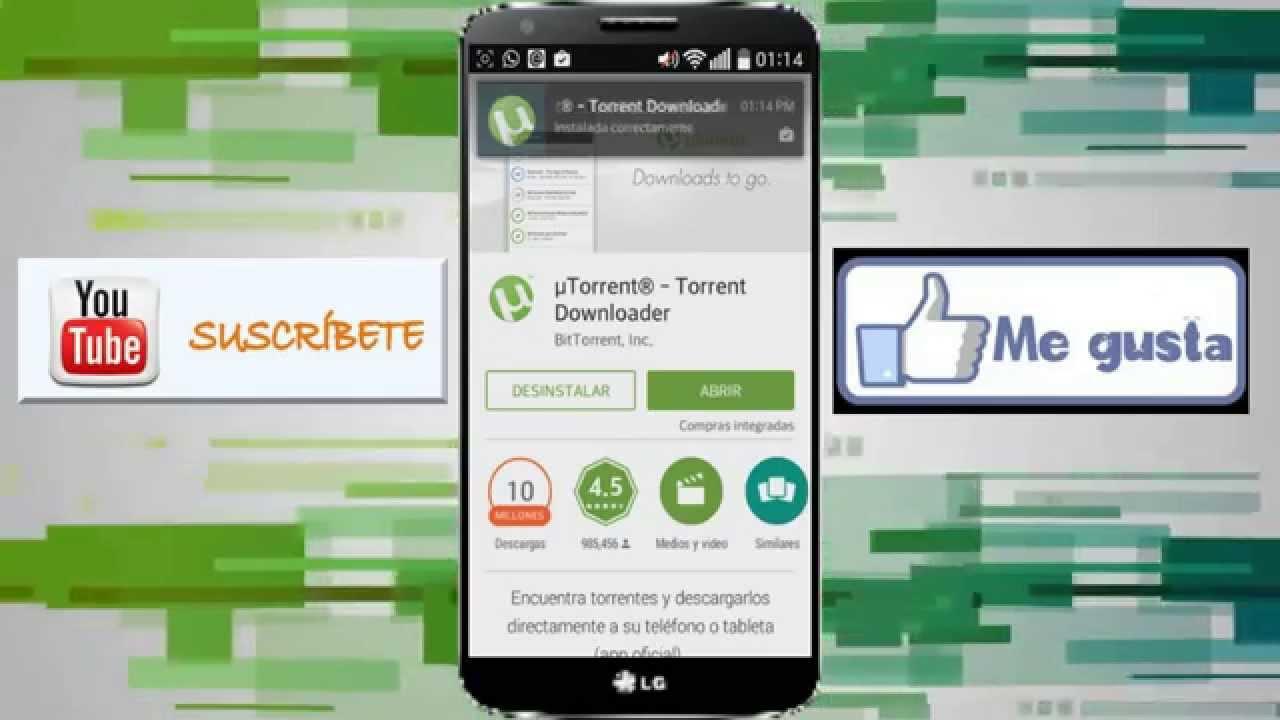 Como Descargar Archivos Torrent Desde Tu Android