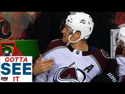 GOTTA SEE IT: Nathan MacKinnon Furious On Bench And Calls Out His Coach