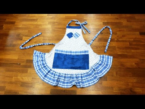 Make a Ruffled Apron in a Couple of Hours