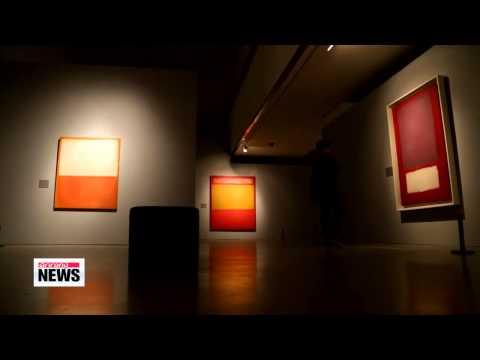 Mark Rothko exhibition reveals important original works in Seoul   마크 로스코 전시회