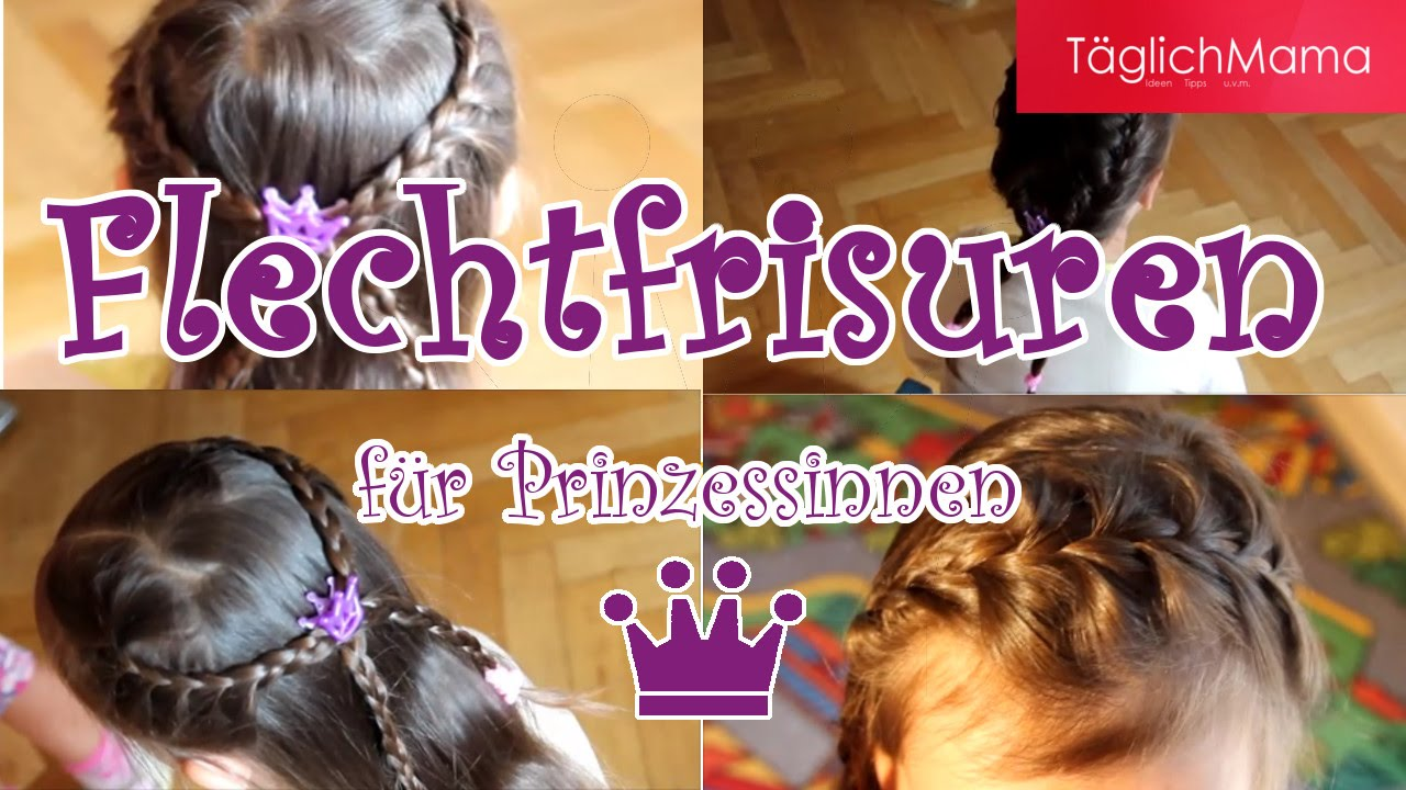 Schnelle Flechtfrisuren Fur Kinder Ideal Fur Kindergarten Schule Kinderfrisuren Braid Hairstyles