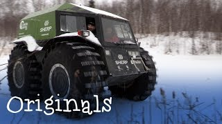 Staff Tries: Driving a Sherp!