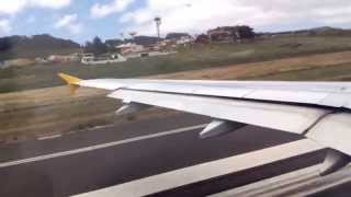 Airbus A320 take off Los Rodeos ( Tenerife norte )